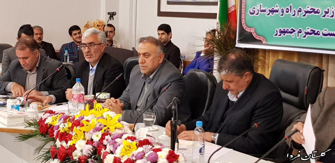 وزیر راه و شهرسازی: اصلاح شبکه آب شرب در اولویت قرار گیرد/ به دنبال پایانه داری دولتی نیستیم